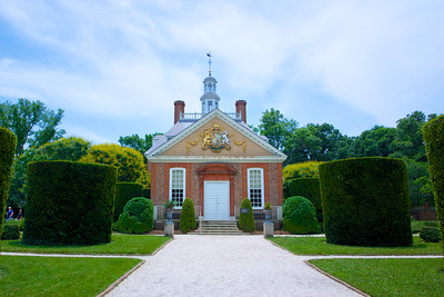 Governor's Mansion at Colonial Williamsburg