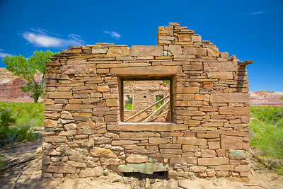 Wall of Stone House