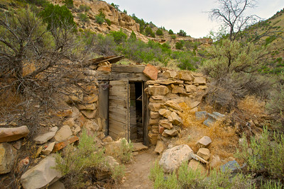 Remains of Prospector Cabin