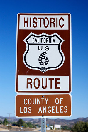 Closeup Route 6 Sign