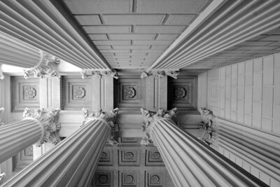Ceiling of the National Archives