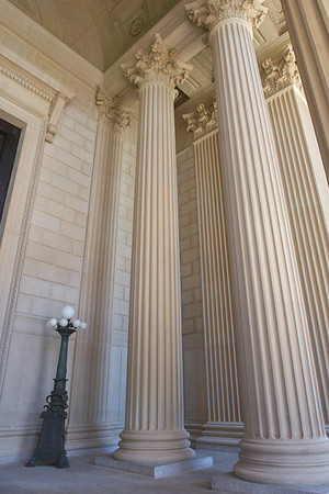 Portico Columns at National Archives