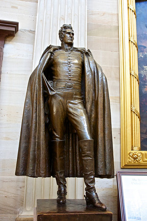Standing Andrew Jackson Statue
