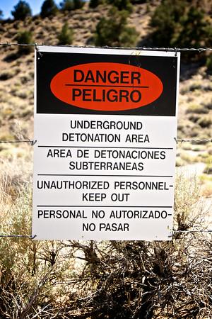 Explosion Danger Sign