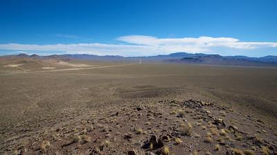 Empty Nevada High Desert