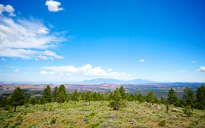 Hillside Overlooking Vast Country