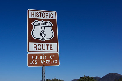 Historic Route 6 Sign
