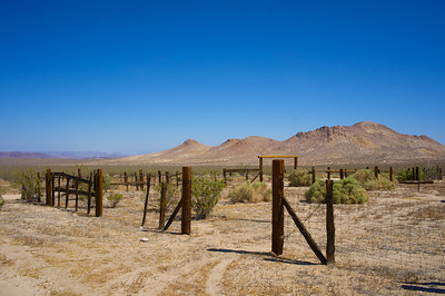 Desert Corral in Mojave