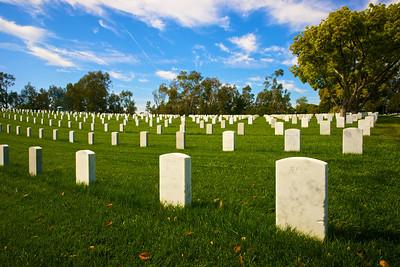 Gravestones into the Distance