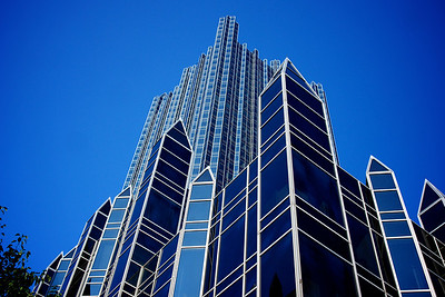 Towers of Glass and Steel Point Skyward
